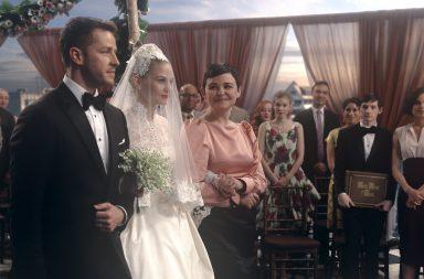Captain Swan wedding