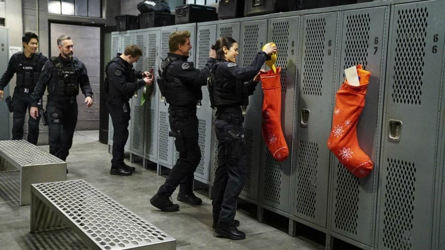 S.W.A.T. Christmas episode