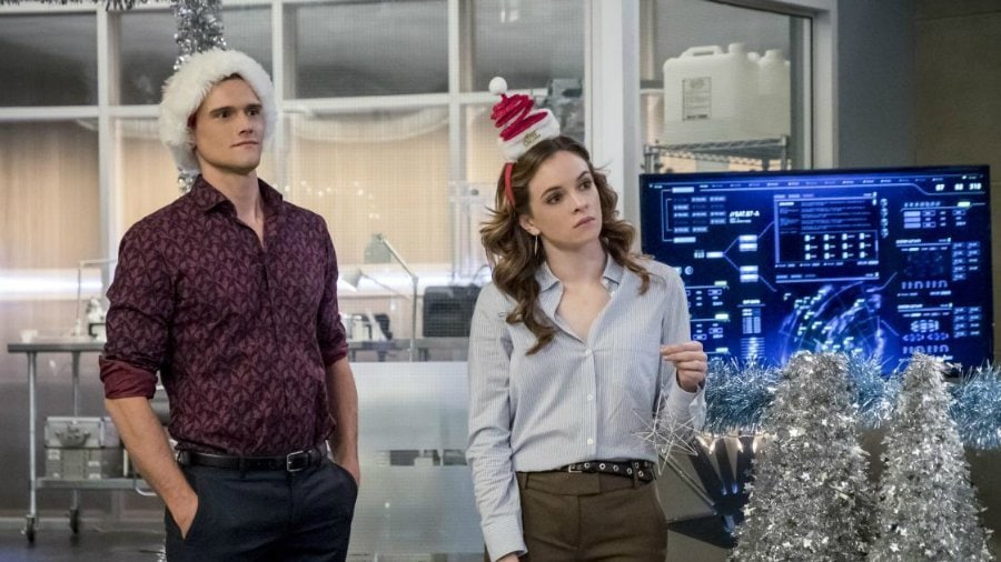 The Flash Christmas episode