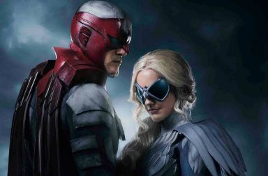 First look at Titans' Hawk and Dove