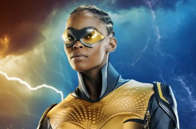 first look at Black Lightning's Thunder