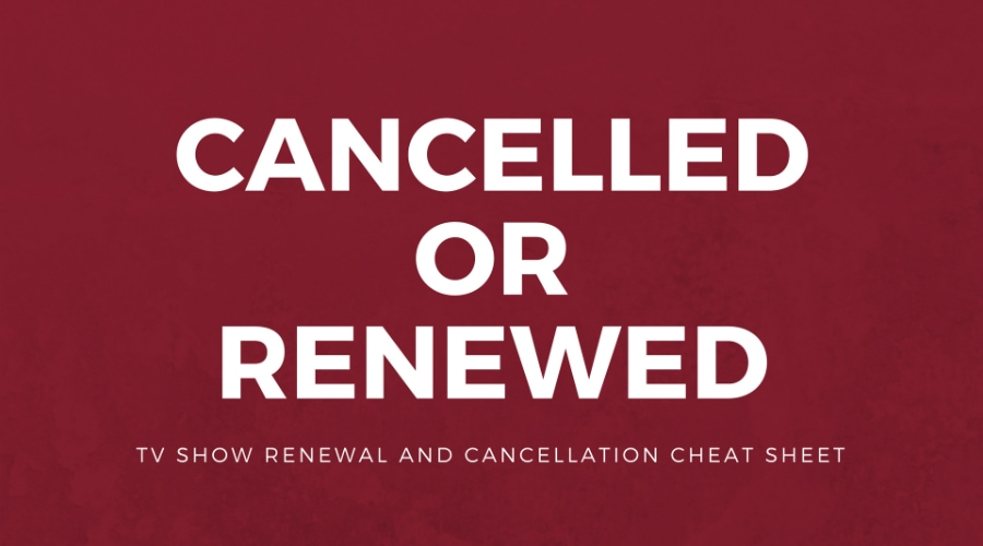 cancelled and renewed