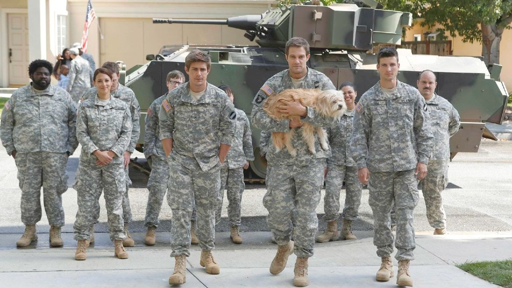 military comedy Enlisted on Fox
