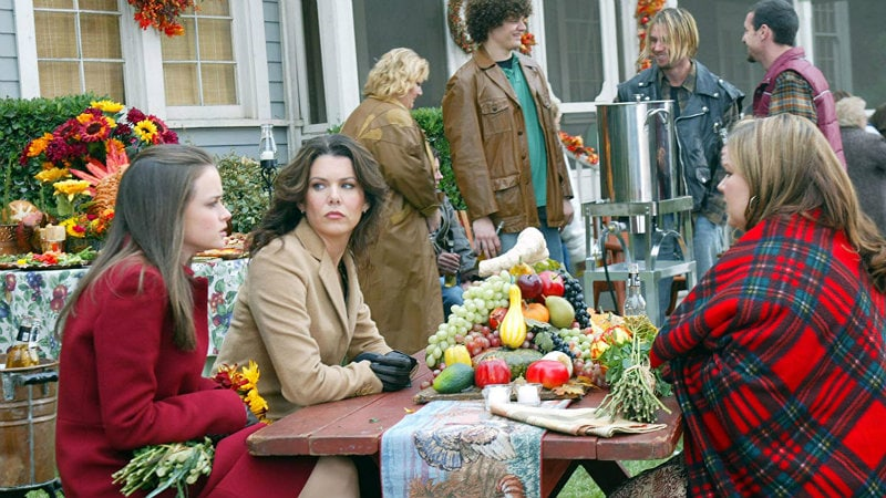 Gilmore Girls Thanksgiving episode