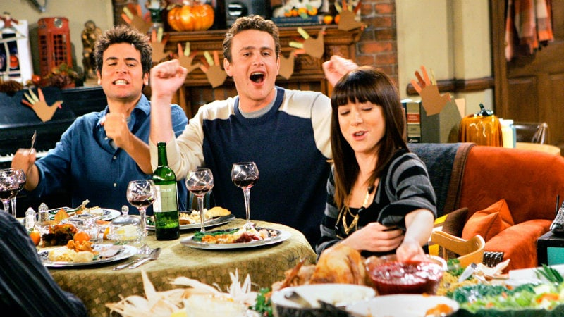 How I Met Your Mother Slapsgiving