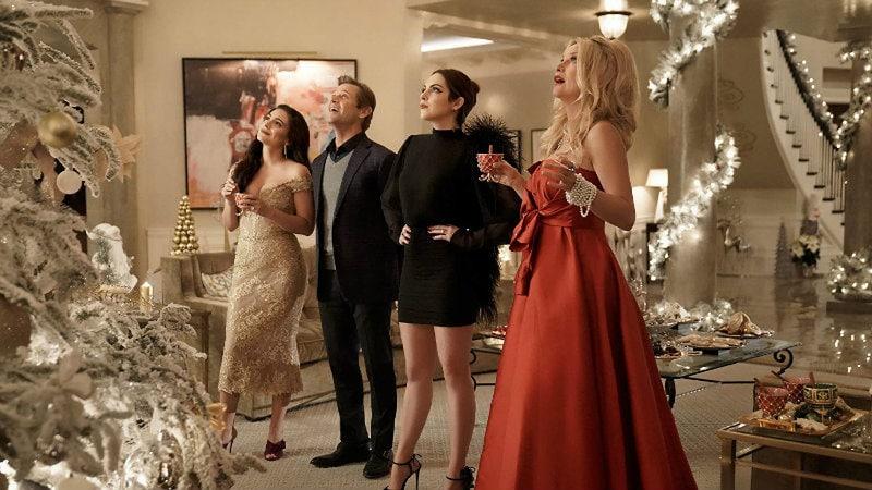 Dynasty Christmas episode