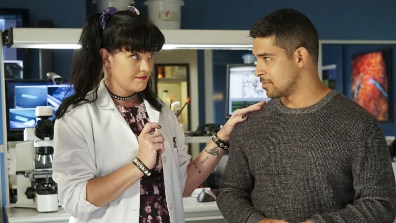 Pauly Perrette as Abby Sciuto on NCIS