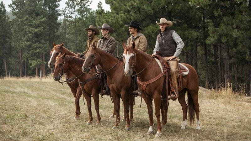 Yellowstone cowboy tv series