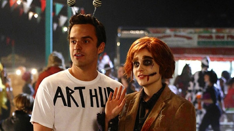 new girl halloween episode