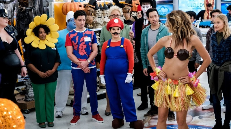 superstore halloween episode