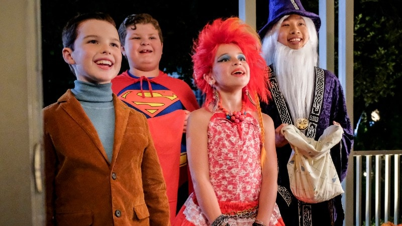 young sheldon halloween episode