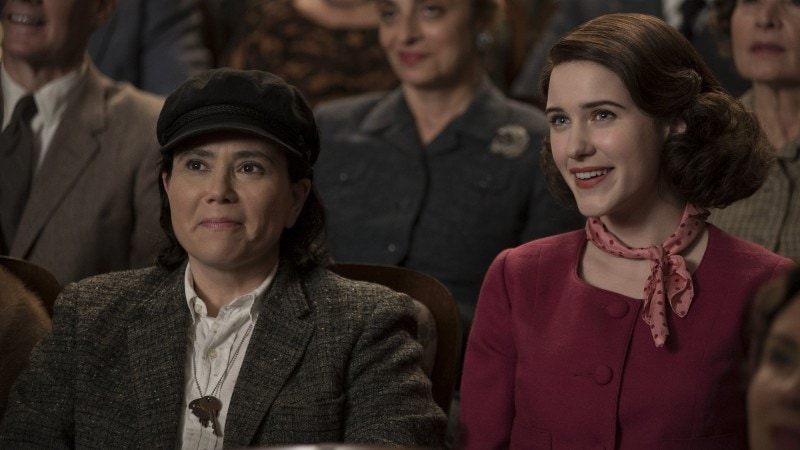 Susie and Midge on Amazon's The Marvelous Mrs. Maisel