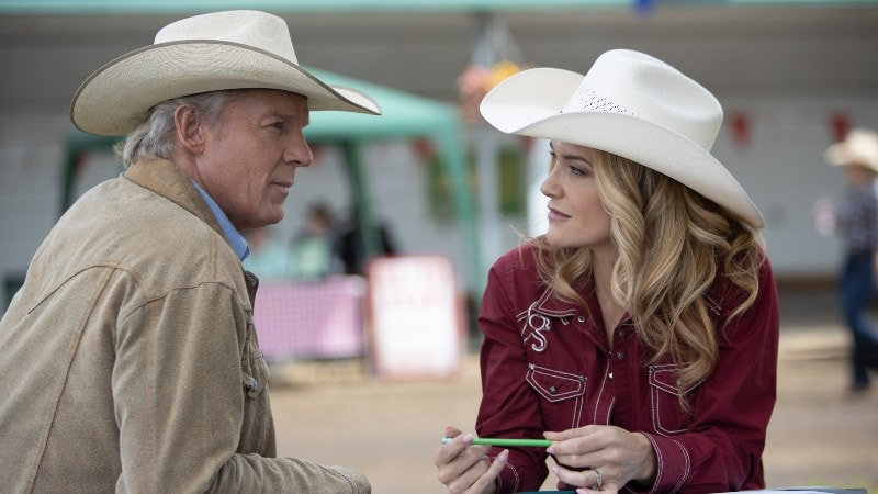 Tim and Casey on Heartland 1308