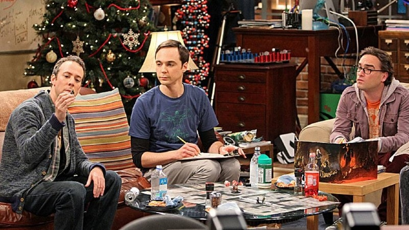 The Big Bang Theory The Santa Simulation