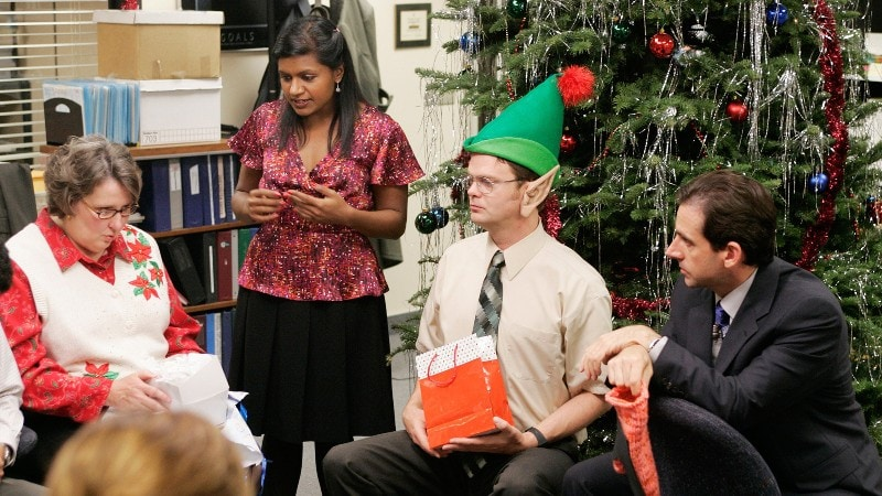 The Office 2x10 Christmas Party