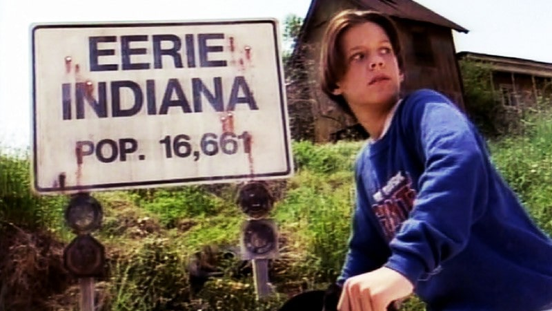 Eerie, Indiana on NBC as one of TV Cult Classics