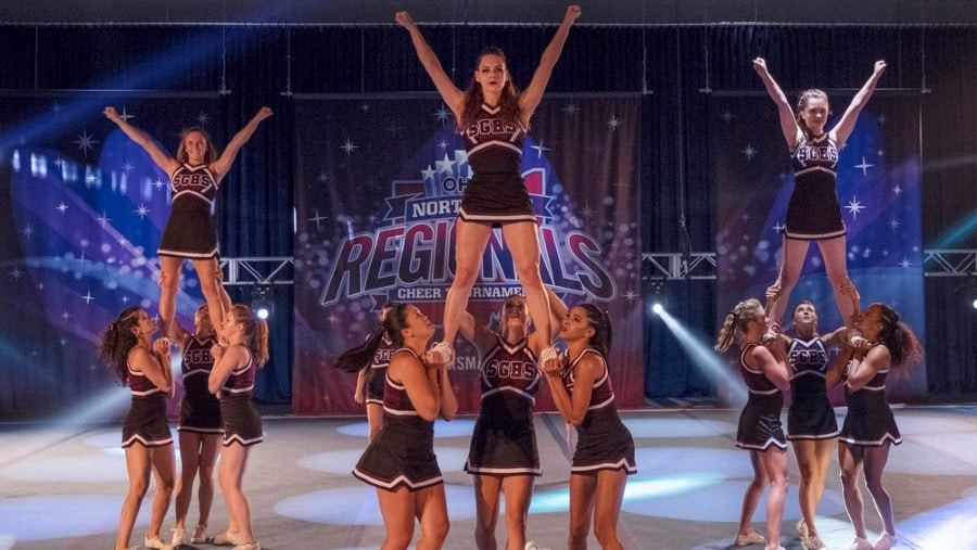 new cheer show on Netflix