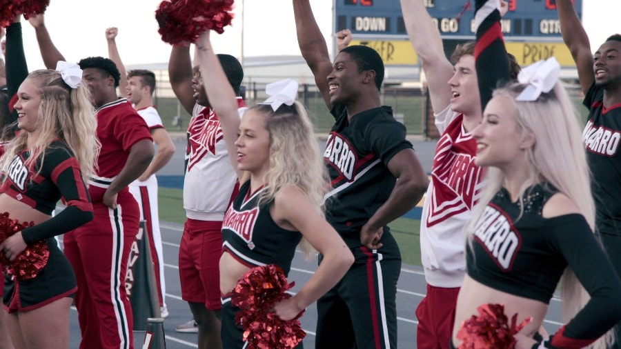 new cheerleading show on Netflix