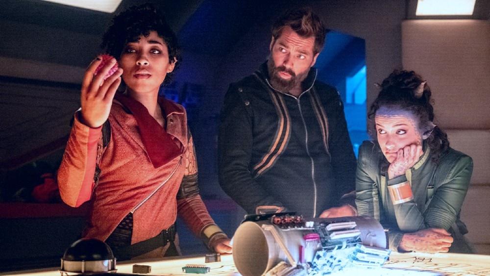 recent sci-fi TV series