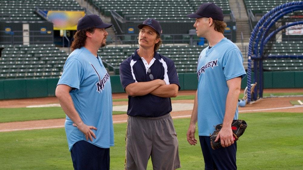 HBO baseball series ccomedy