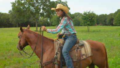 Ultimate Cowboy Showdown Katey Jo Gordon on a horse