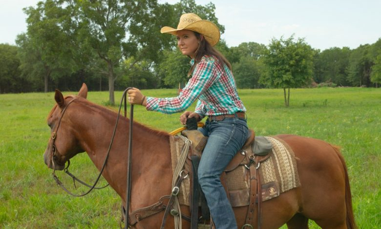 Ultimate Cowboy Showdown Katey Jo Gordon on a horse