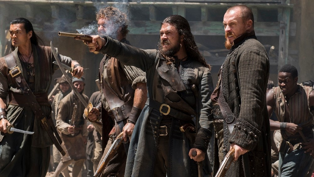 Starz pirate show Black Sails