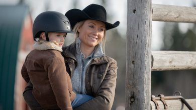 Amy and Lyndy on Heartland season 14 episode 7