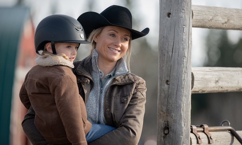 Amy and Lyndy on Heartland season 14 episode 7
