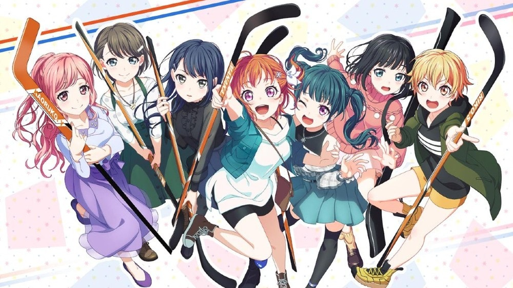 anime hockey series