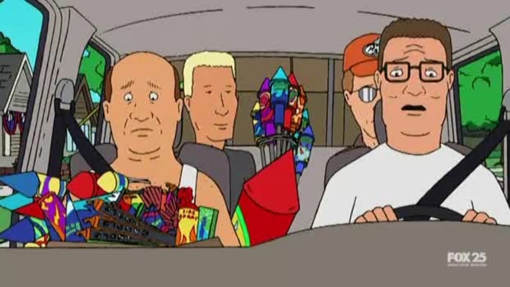 King of the Hill 4th of July episode