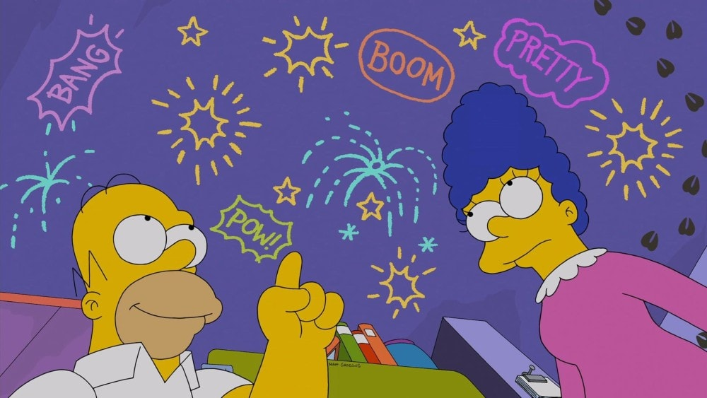 The Simpsons 4th of July episode